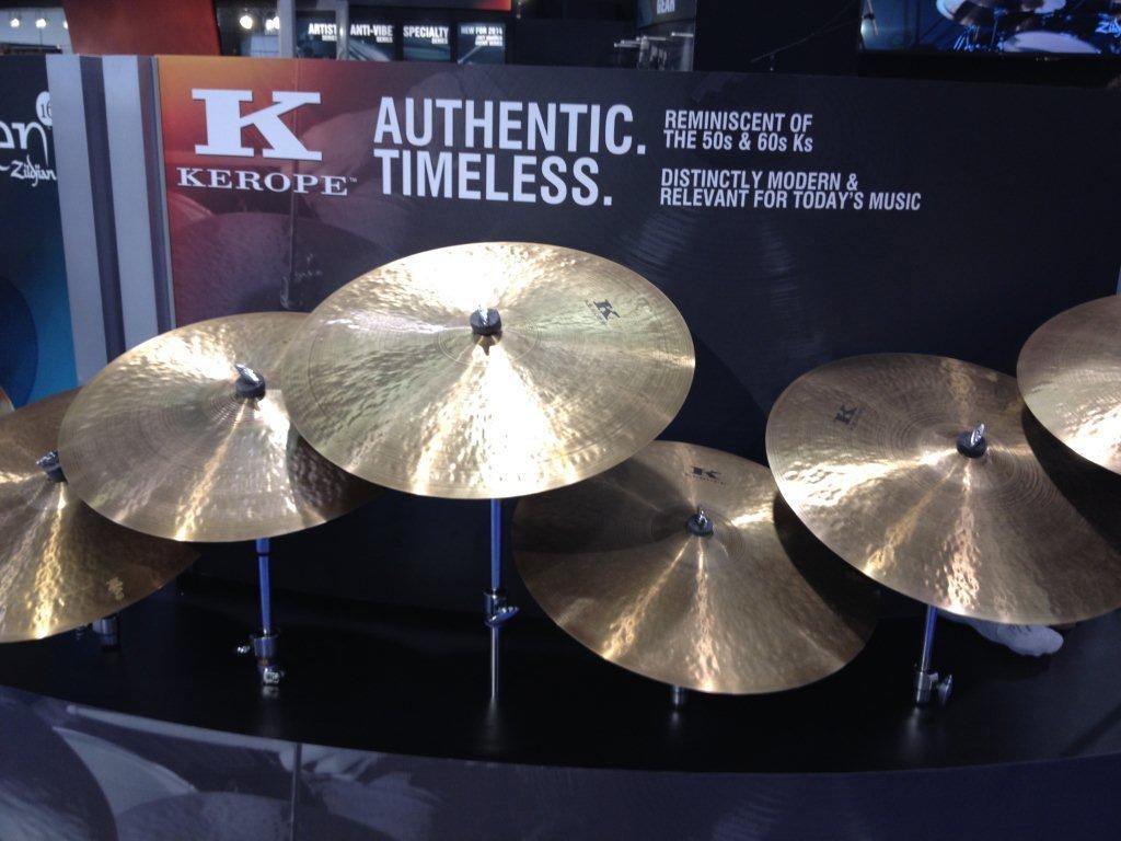 Zildjian-Kerope-Cymbals-at-NAMM-2014