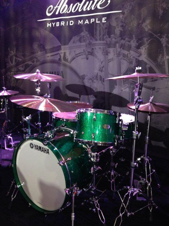 Yamaha-Drums-at-NAMM-2014