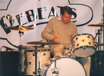 Donny Osborne at the Chicago Drum Show